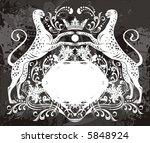 leopard logo | Shutterstock .eps vector #5848924