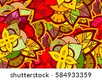 abstract seamless colorful... | Shutterstock .eps vector #584933359