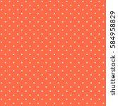 cute sweet tomato tile pattern... | Shutterstock . vector #584958829