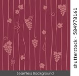 seamless grapevine background
