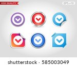 colored icon or button of... | Shutterstock .eps vector #585003049