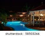 Swimming Pool Of Luxury Hotel...