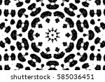 grunge black and white urban... | Shutterstock .eps vector #585036451