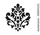 Fleur De Lis Symbol  Black...