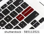 type of online banking terms on ...   Shutterstock . vector #585113521