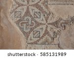 Small photo of Mosaic floors of romans villas (3-5 centuries). Curium, Cyprus.