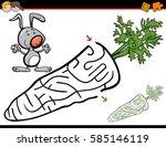 cartoon illustration of... | Shutterstock .eps vector #585146119