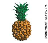 vector illustration of... | Shutterstock .eps vector #585147475