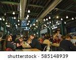 warsaw  poland   november 25 ... | Shutterstock . vector #585148939