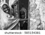 editorial use. even facing poor ... | Shutterstock . vector #585154381