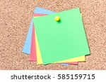 green  yellow red and blue...   Shutterstock . vector #585159715