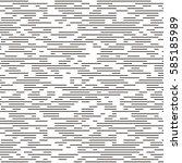vector seamless pattern in... | Shutterstock .eps vector #585185989