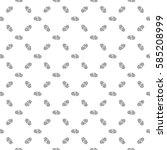 spiral chaotic seamless pattern.... | Shutterstock . vector #585208999