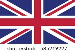 flag of great britain and... | Shutterstock .eps vector #585219227