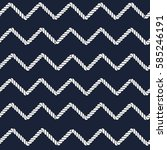marine rope line seamless...   Shutterstock .eps vector #585246191