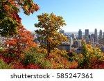 montreal  canada | Shutterstock . vector #585247361