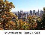 montreal  canada | Shutterstock . vector #585247385