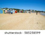 melbourne  australia   january... | Shutterstock . vector #585258599