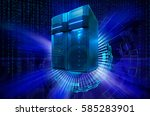 information background with... | Shutterstock . vector #585283901