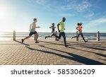 full length shot of young... | Shutterstock . vector #585306209