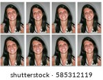 Small photo of woman Identity photos required to obtain a passport