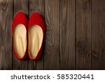 Red Women's Shoes  Ballerinas ...