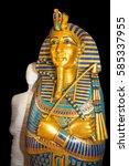 Mummy Replica Statue In...