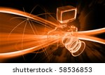 digital illustration of a... | Shutterstock . vector #58536853