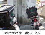 bangkok  thailand   january 27  ... | Shutterstock . vector #585381209