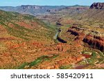Salt River Canyon In Arizona...