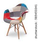 patchwork armchair  chair ... | Shutterstock . vector #585453341