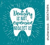 Dental Care Motivational Quote...