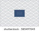 geometric vector pattern ... | Shutterstock .eps vector #585497045