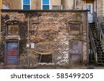 Old Back Alley Building In A...