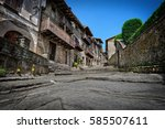 Old Street In Medieval Town...