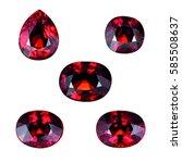 jewels  gemstones | Shutterstock . vector #585508637