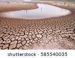 Climate Change And Drought Land