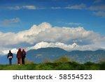 scenic walk | Shutterstock . vector #58554523