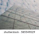 skyscraper buildings and sky... | Shutterstock . vector #585549029