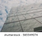 skyscraper buildings and sky... | Shutterstock . vector #585549074