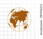 globe vector icon