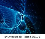 abstract background element.... | Shutterstock . vector #585560171