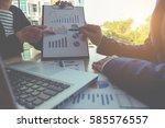 business concept. business... | Shutterstock . vector #585576557