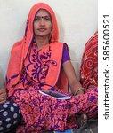 jaipur  india   february 25 ... | Shutterstock . vector #585600521