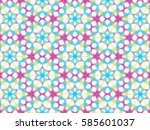 Background Pattern With Circle...