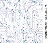 circuit board background. eps10 ...   Shutterstock .eps vector #585608375