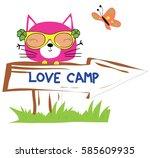 cute animal   Shutterstock .eps vector #585609935