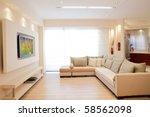 luxury living room | Shutterstock . vector #58562098