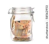 Business Concept. Money Savings ...