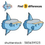 find differences  education... | Shutterstock .eps vector #585659525